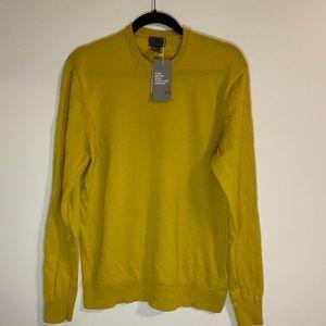 Yellow H&M sweater.